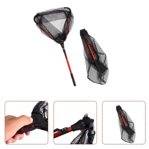 Aluminum Retractable collapsible Telescoping Landing Folding Fly Fishing Net