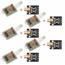 10pcs Laser Receiver Sensor Module 650nm Ky 008 Transmitter Kit For Arduino Avr