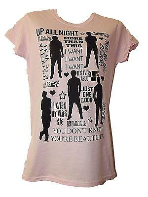 Stetig New Girls Teens Ladies 1d One Direction Up All Night Tour T-shirt Tee Top S - Xl Festsetzung Der Preise Nach ProduktqualitäT