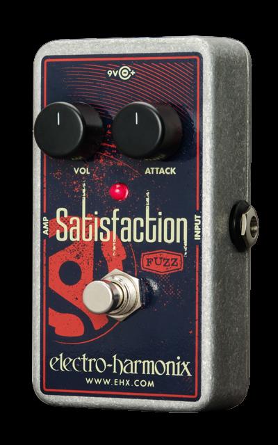 EHX Electro-Harmonix Satisfaction Fuzz Guitar Effects Pedal