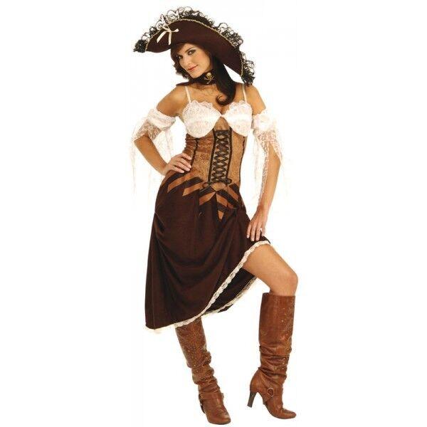 *clearance* Maiden Of The Sea Women's Pirates Fancy Dress Costume (rubies) Um Eine Reibungslose üBertragung Zu GewäHrleisten