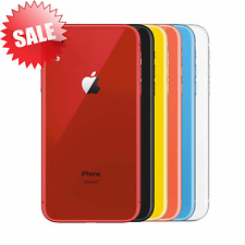 Apple iPhone XR (AT&T or T-Mobile Metro PCS) 64GB Black / Red 6.1 Smartphone GSM