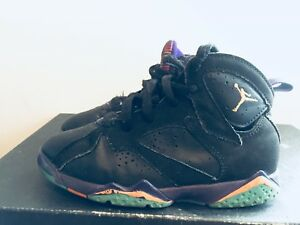 d89632c596010c 2015 Youth Nike Air Jordan VII 7 Lola Bunny Black Purple Size 13C ...