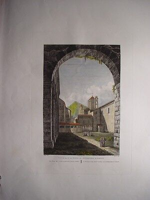 Catalonia Tarragona «view Of» The Courtyards Of Monastery The Poblet»ale Art Prints Spain