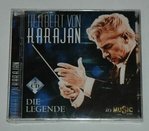 2-CD-SEALED-NEW-HERBERT-VON-KARAJAN-DIE-LEGENDE-its-music-22651