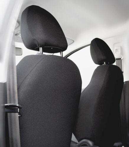 Sitzbezüge Sitzbezug Schonbezüge für Ford Fiesta Schwarz Modern MC-1 Komplettset