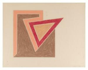 Frank-Stella-Tuftonboro-1974-Original-Hand-Signed-Lithograph-and-Serigraph