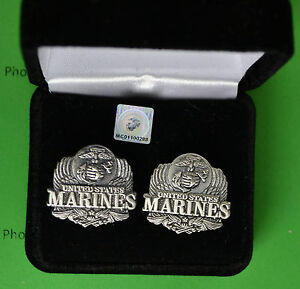 Marine-Corps-Eagle-Cuff-Links-in-Presentation-Gift-Box-USMC-cufflinks