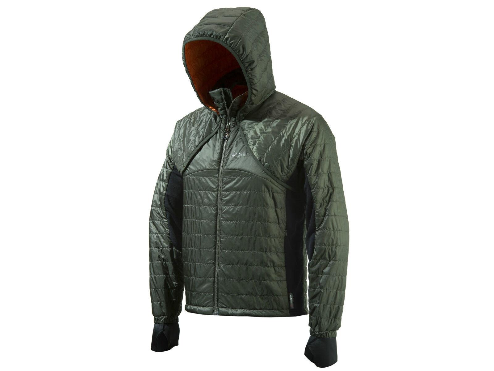 Beretta Men's BIS  2 in 1Hoody Congreenible Bolero Polyester size LARGE BRAND NEW