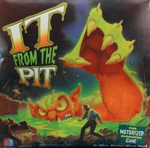 Milton-Bradley-MB-It-From-The-Pit-The-Motorized-Monster-Game-Board-Game-4304U