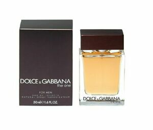 THE ONE For Men by Dolce & Gabbana 1.6 oz. EDT spray Mens Cologne 50 ml NIB