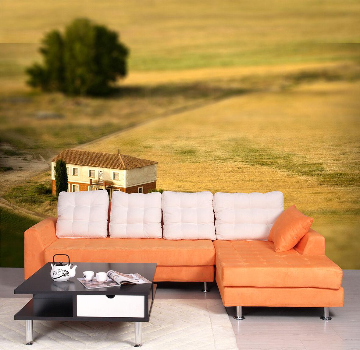 3D Terreno Albero.Parete Murale Foto Carta da parati immagine sfondo muro stampa