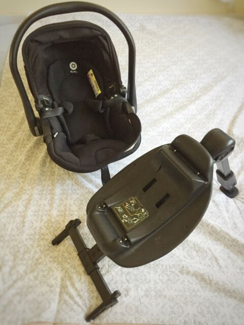 Kiddy Evolunafix Babyschale mit Liegefunktion, inklusive Isofix Base 2
