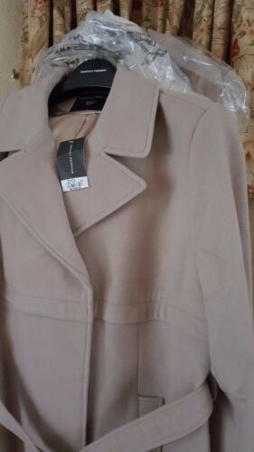 20 Ladies Dorothy Camel Størrelse Ny Perkins Fra Beige Reduceret Coat FCZwSFq