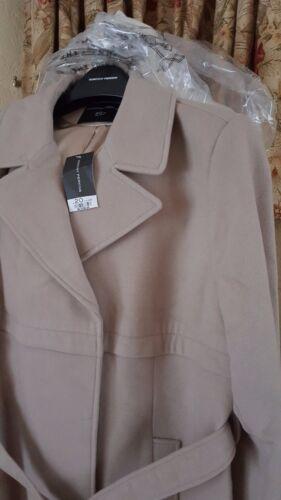 Størrelse Beige Dorothy Perkins Ladies Reduceret Ny 20 Camel Coat Fra x0qqAI6