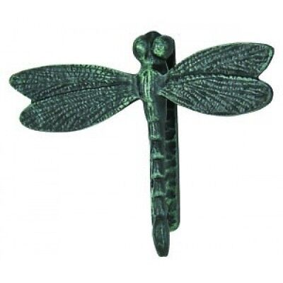 Vintage French Provincial Cast Iron Antique Style Dragonfly Door Knocker Metal