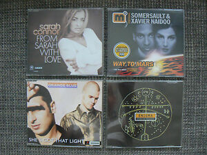 4-No-1-Maxi-CDs-von-ENIGMA-SARAH-CONNOR-SOMERSAULT-ORANGE-BLUE