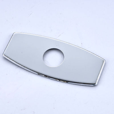Polished Chrome Bathroom Faucet Cover Plate 6 Inch Basin ...