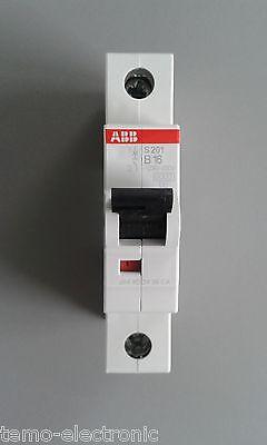 ABB S201 B oder C - LS-Schalter-Sicherungsautomat-Leitungsschutzschalter-1 POLIG