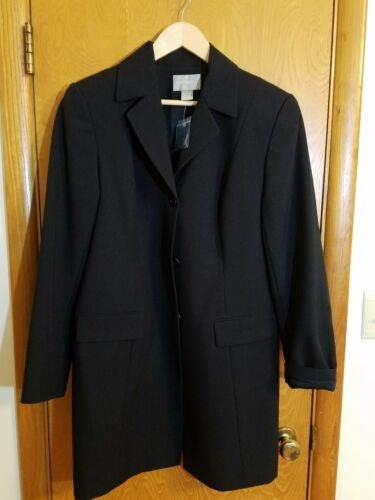Dame New Career Business Black 14 Lined Nwt Nordstrom Coat Størrelse 4RqFECw