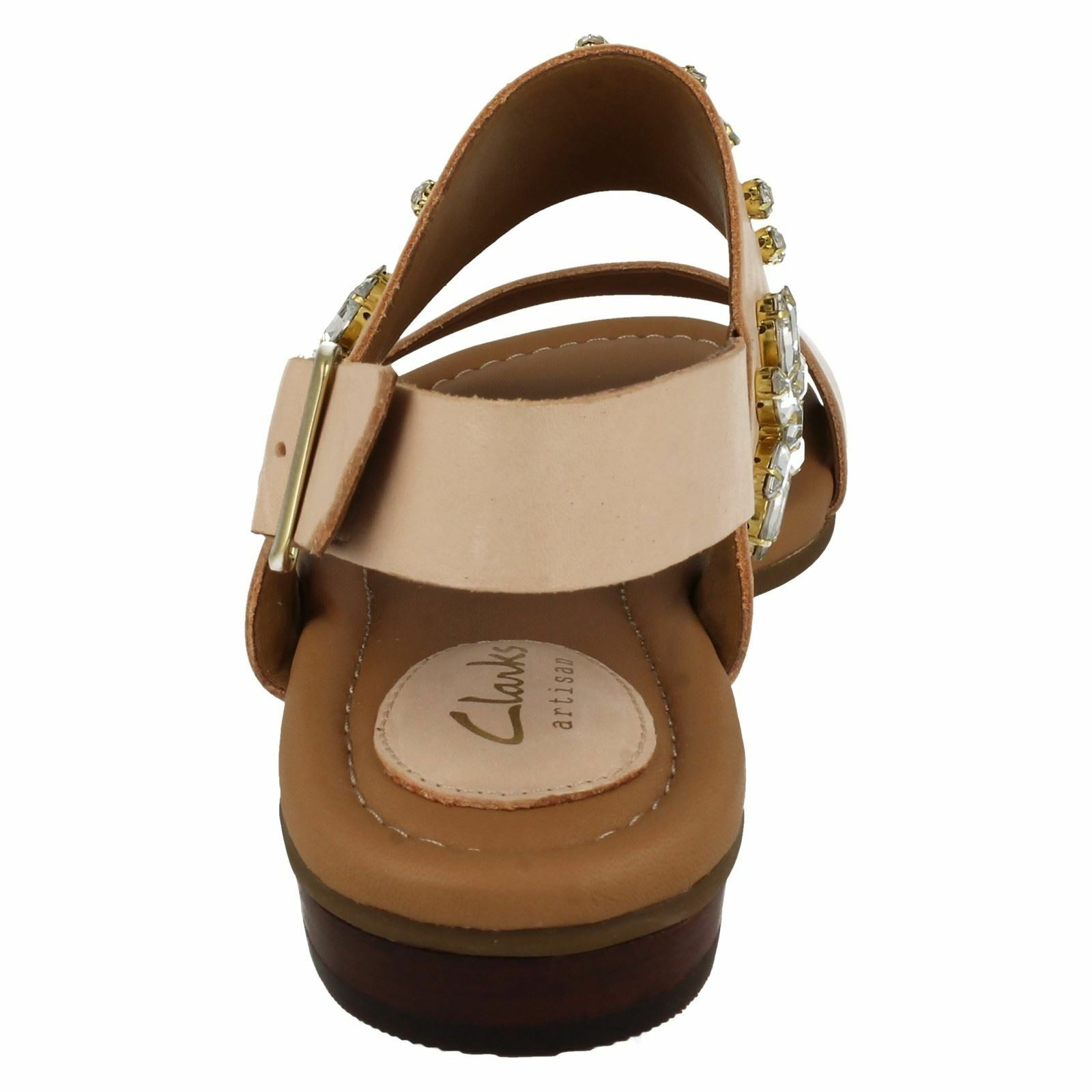 Clarks Viveca SIZE Melrose Damenschuhe Nude Ankle Strap Sandale SIZE Viveca UK4 EUR37 US6.5 9d5930