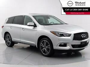 2017 Infiniti QX60 Deluxe Technology PKG Fully Loaded, No Accidents, Remote Start, Navigation