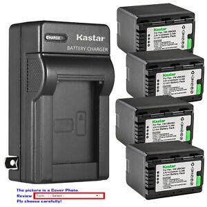 Kastar-Battery-AC-Wall-Charger-for-Panasonic-VW-VBK360-amp-HDC-SD90GK-HDC-SD60S