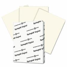 International Paper Digital Vellum Bristol Color Cover 67 Lb 8 12 X 11 Cream