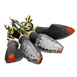 4x-12V-14-LED-Luci-Indicatori-Direzione-Frecce-Omologate-Segnale-Ambra-Moto-E2G0