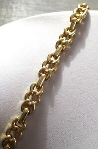 bracelet léger couleur or bijou rétro gourmette maillons style marin 1550 ucvvb7KK-09154226-851099402