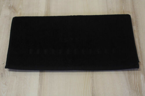 Esprit Handtuch Esprit Home Solid Black 70x140 cm NEU