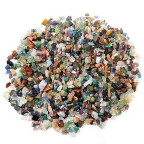 Mixed Tumblestones Gemstones Crystal Chip Chippings Vase Filler Art 3mm - 10mm