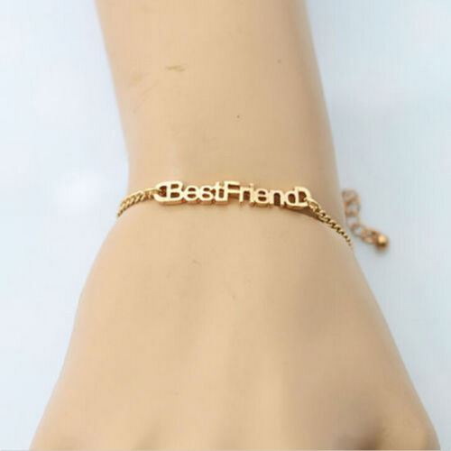 Charm Letters Friendship Bracelets For Unisex Jewelry Gifts for Best Friend uq