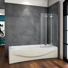 Item 4 Luxury 1000x1400mm 3 Fold Folding Bath Shower Screen Modern Hinge  Glass Panel  Luxury 1000x1400mm 3 Fold Folding Bath Shower Screen Modern  Hinge ...