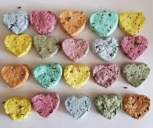 4-HANDMADE-WILDFLOWER-SEED-BOMBS-ECO-FRIENDLY-WEDDING-PARTY-FAVOUR-GIFT