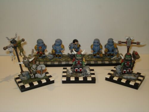 Lego Warhammer Custom Mini Figures with Accessories! Multiple Variations!