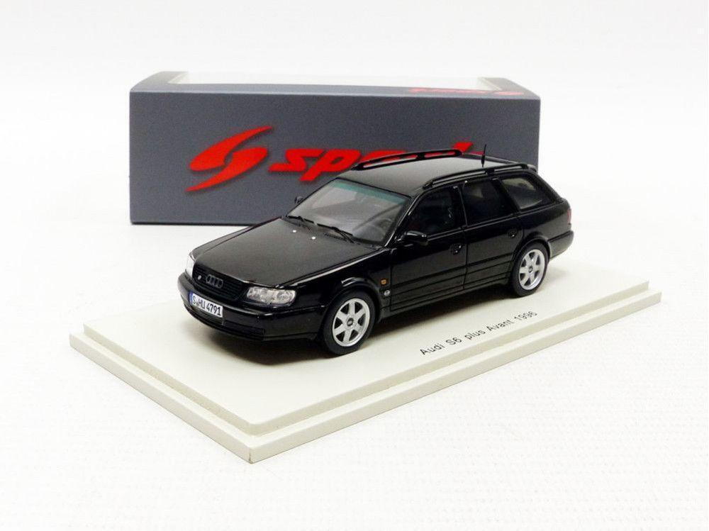 descuento de bajo precio Spark 1 1 1 43 1996 AUDI S6 Avant Plus Negro S4884  al precio mas bajo