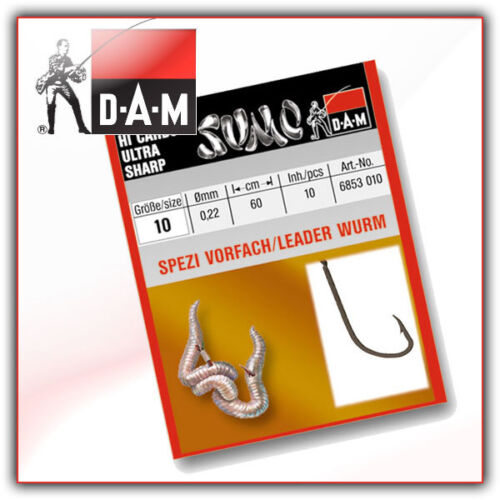 SUMO Haken Wurm Gr 8-10 Stck.