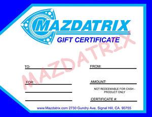RX-7 FC3S Mazda Rotary Mazdatrix 6-Port Porting Template RX7