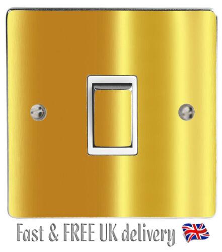 Chrome Gold Gloss Light Switch Sticker Vinyl Skin Cover Decal