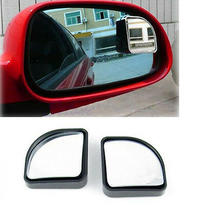 2Pc Universal Spot Blind Mirror Convex Wide Angle Rear Side View Fr Car Vehicle