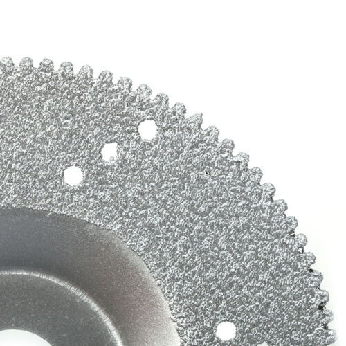 """4/"""" 100mm Brzaed Diamond Coated Saw Blade Cutting Disc Grinding Wheel 5//8/"""" Hole"""