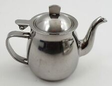 Restaurant Quality Polar Stainless Steel Small Personal Tea Pot Teapot Pitcher