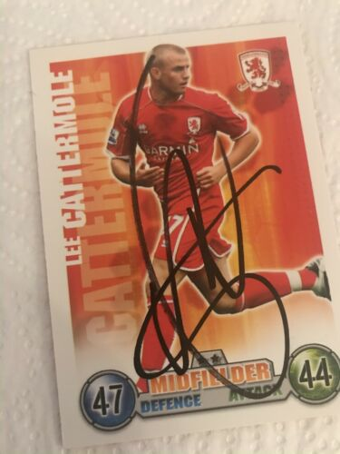 Match Attax signed 22