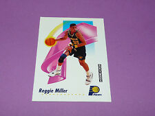 REGGIE MILLER INDIANA PACERS 1991 NBA SKYBOX BASKETBALL CARD