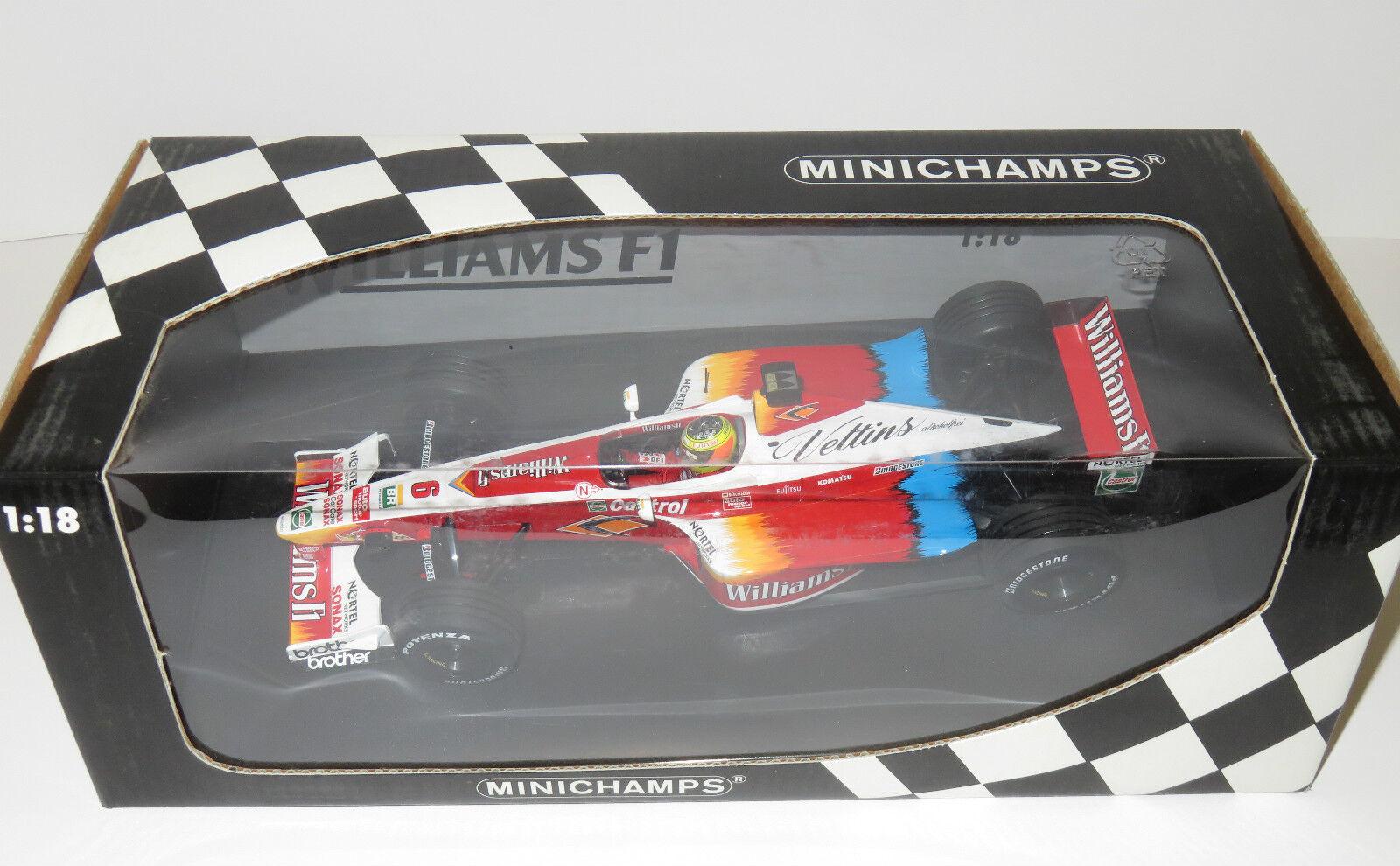 1 18  Winfield Williams Supertech FW21  Season 1999   Ralph Schumacher