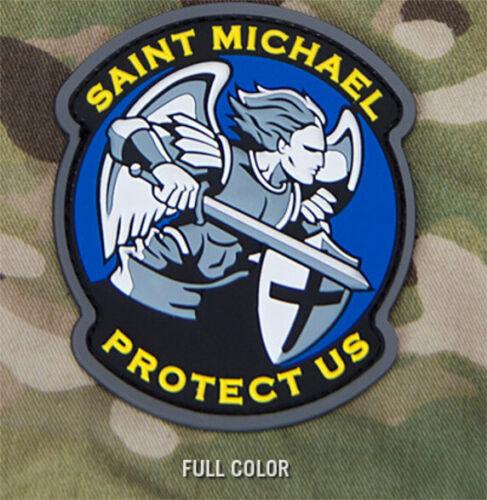 Mil Spec Monkey Modern ST SAINT MICHAEL PROTECT Military Police Morale Patch PVC