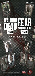 Topps-WALKING-DEAD-Card-Trader-Pick-ANY-9-Cards-from-My-Account-for-1