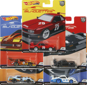 2019 Hot Wheels Car Culture Silhouettes Set of 5 VHTF