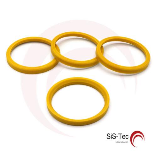 TSW t26-sl651p 76,0 mm x 65,1 mm nuevo 4 x anilla anillo distanciador llantas de aluminio Mak